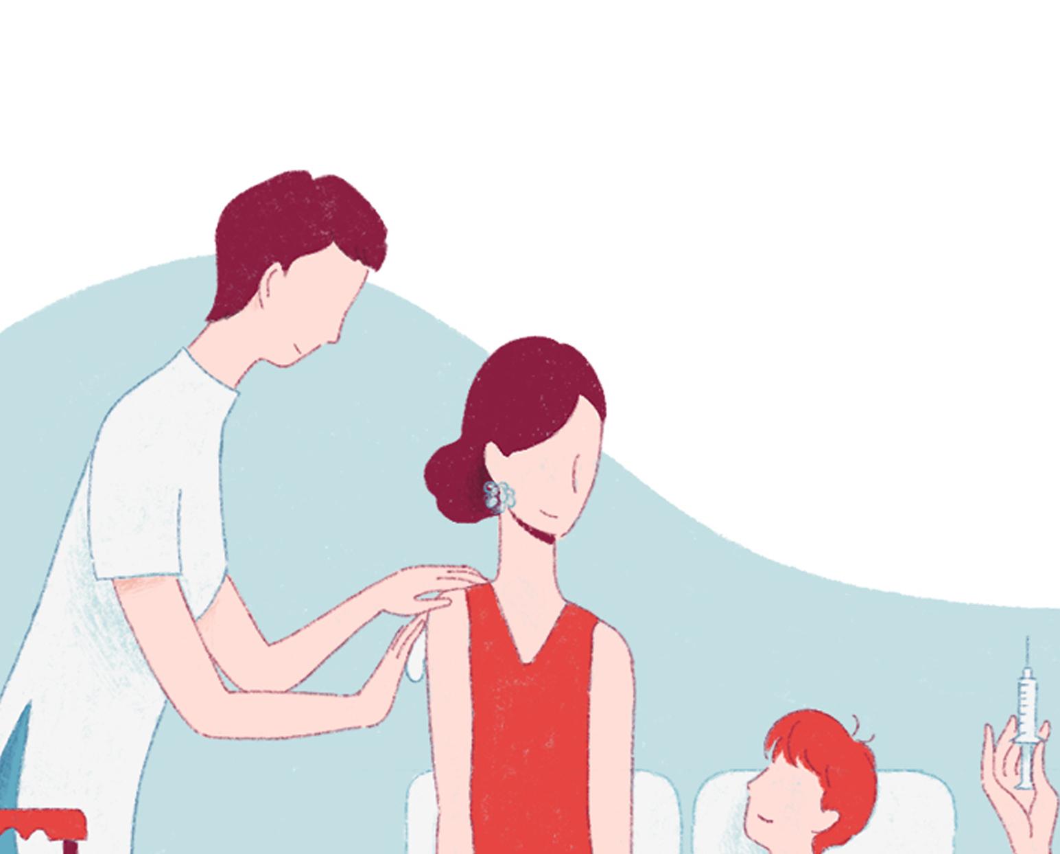 Anteprima dell'illustrazione per l'articolo sulla gestione dell'iter delle vaccinazioni.